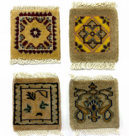 Mug Rug  Cream/Tan  Assorted Designs