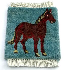 Bunyaad Pakistan Horse Mug Rug