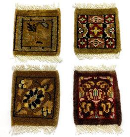 Mug Rug Khaki Assorted Designs