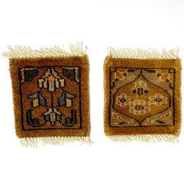 Bunyaad Pakistan Marigold Mug Rug Assorted Classic Designs