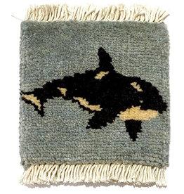 Bunyaad Pakistan Orca Mug Rug