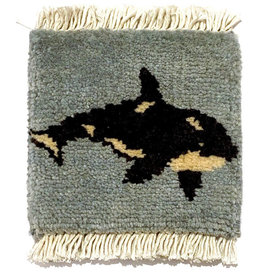 Orca Mug Rug