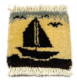 Mug Rug Sail Boat design