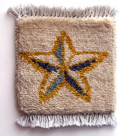 You're a Star Mug Rug Ivory