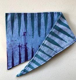 Pet Bandana Fissure Blue/Purple