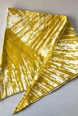 Pet Bandana Rays Mustard