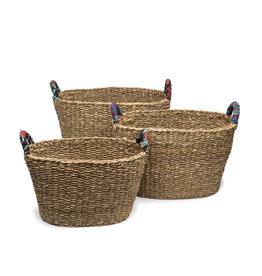 Matr Boomie Sari Handle Floor Basket