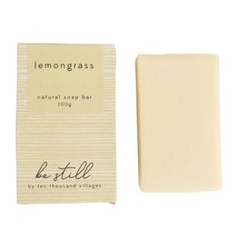Be Still Lemongrass Soap