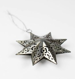 Ten Thousand Villages Fretwork Star Ornament