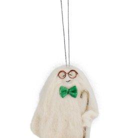 Grandpa Yeti Ornament