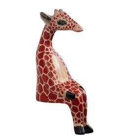 Ten Thousand Villages Little Giraffe Shelf Sitter