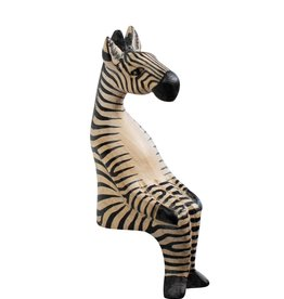 Ten Thousand Villages Little Zebra Shelf Sitter