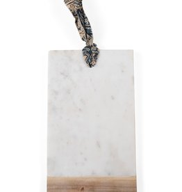 Marble & Wood Cutting Board Rectangle