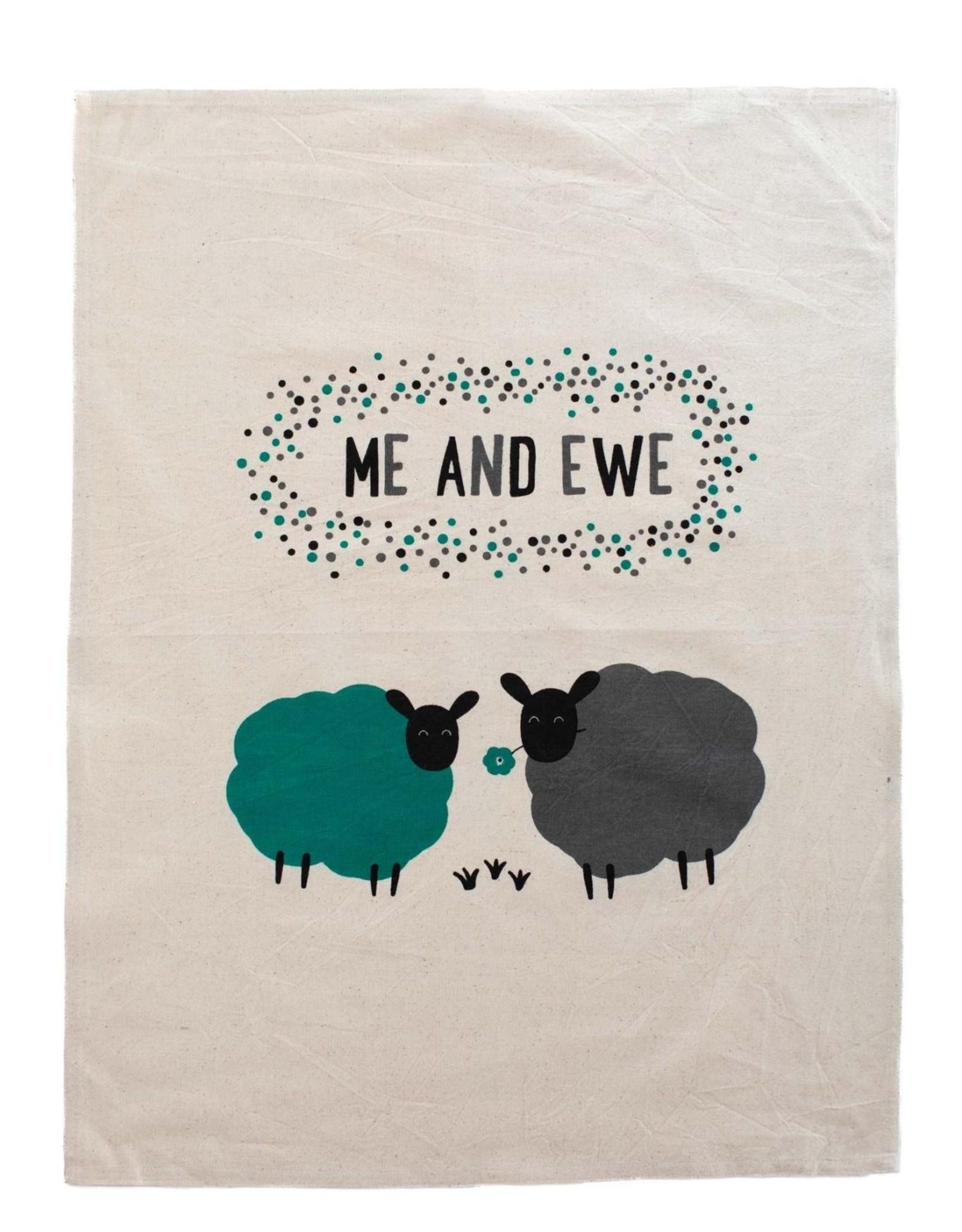 Ten Thousand Villages Me and Ewe Tea Towel