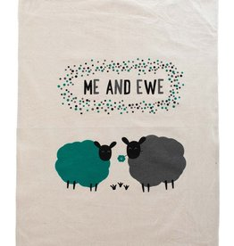Ten Thousand Villages Me and Ewe Tea Towel
