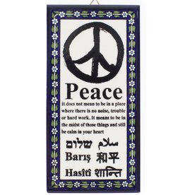 Ten Thousand Villages Meaning of Peace Wall Art