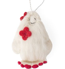 She-Yeti Ornament