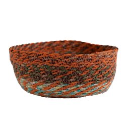 Ten Thousand Villages Swirling Sari Basket - Large