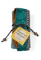 Upcycled Sari Baby Blanket