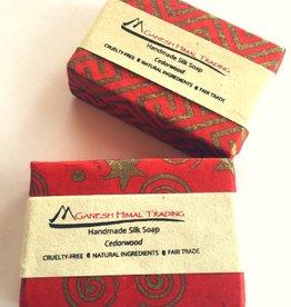 Ganesh Himal Cedarwood Silk Soap