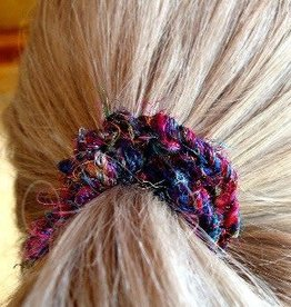 Hair band - recycled silk