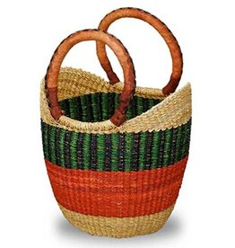 African Market Baskets Mini Shopping Tote