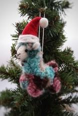 Christmas Llama Ornament