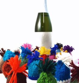 Knit Hat Bottle Topper
