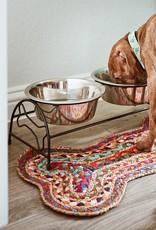 Chindi Blend Dog Mat
