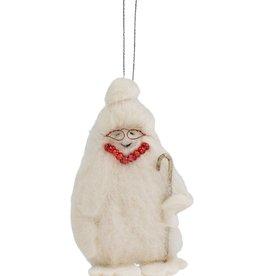 Grandma Yeti Ornament
