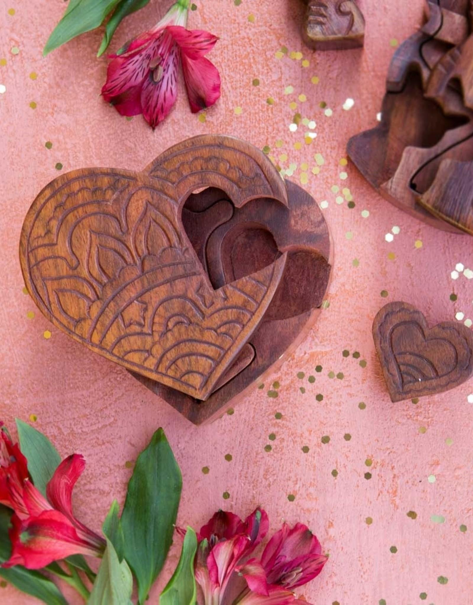 Hearts Are One Puzzle Box