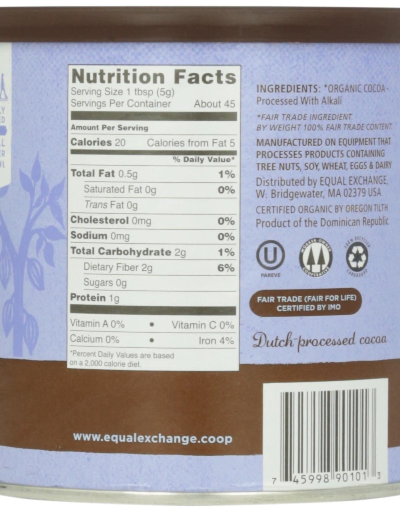 Organic Baking Cocoa 8 oz