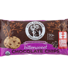 Equal Exchange Organic Bittersweet Chocolate Chips 10 oz