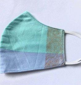 Lilac Mint Reusable Cotton Face Masks-Youth