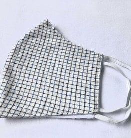 Baba's Checked Shirt Reusable Cotton Face Masks-Youth