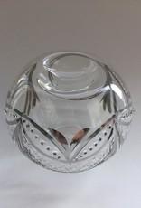 Dandarah Blown Glass Oil Diffuser - Silver Garland