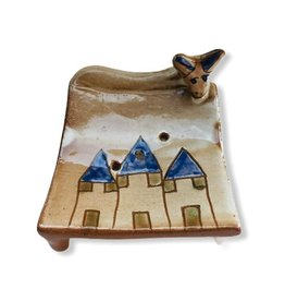 Dandarah Pottery Soap Holder - House & Donkey