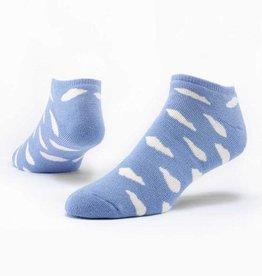 Maggie's Organics Organic Cotton Footie Socks - Patterned