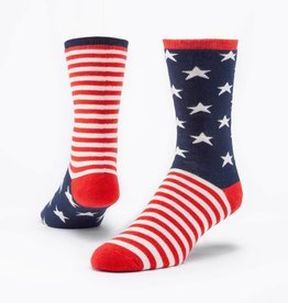 Maggie's Organics Organic Cotton Snuggle Socks - Stars & Stripes