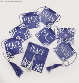 Peace Flag Garland