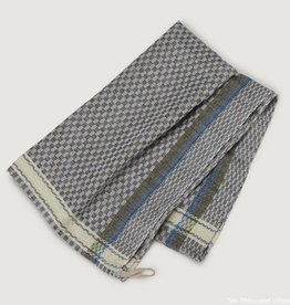 Checked Tea Towel - Green