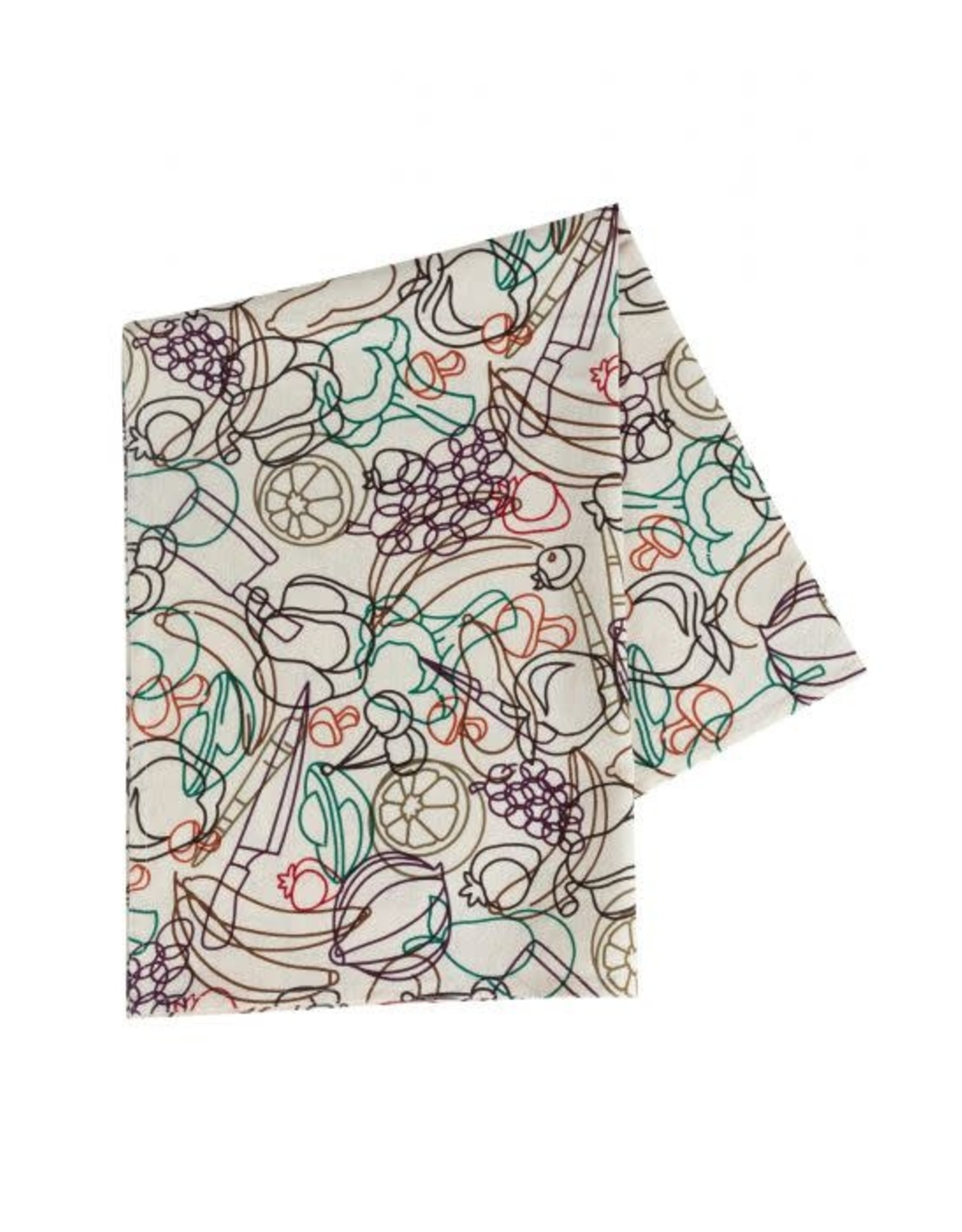 Ten Thousand Villages Fresh Produce Tea Towel
