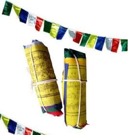 Ganesh Himal Small Windhorse Prayer Flag