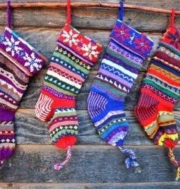 Ganesh Himal Hand Knit Christmas Stocking
