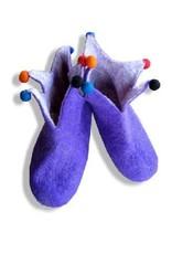 Ganesh Himal Adult Felted jester slippers