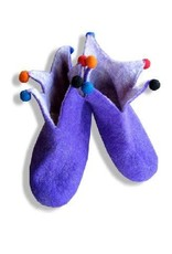 Adult Felted jester slippers 11/12