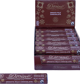 Divine Chocolate Milk Chocolate 1.2oz Snack Bar