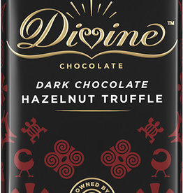 Divine Chocolate Dark Chocolate Hazelnut Truffle