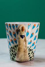 Lucia's Imports Pavo Real Coffee Mug