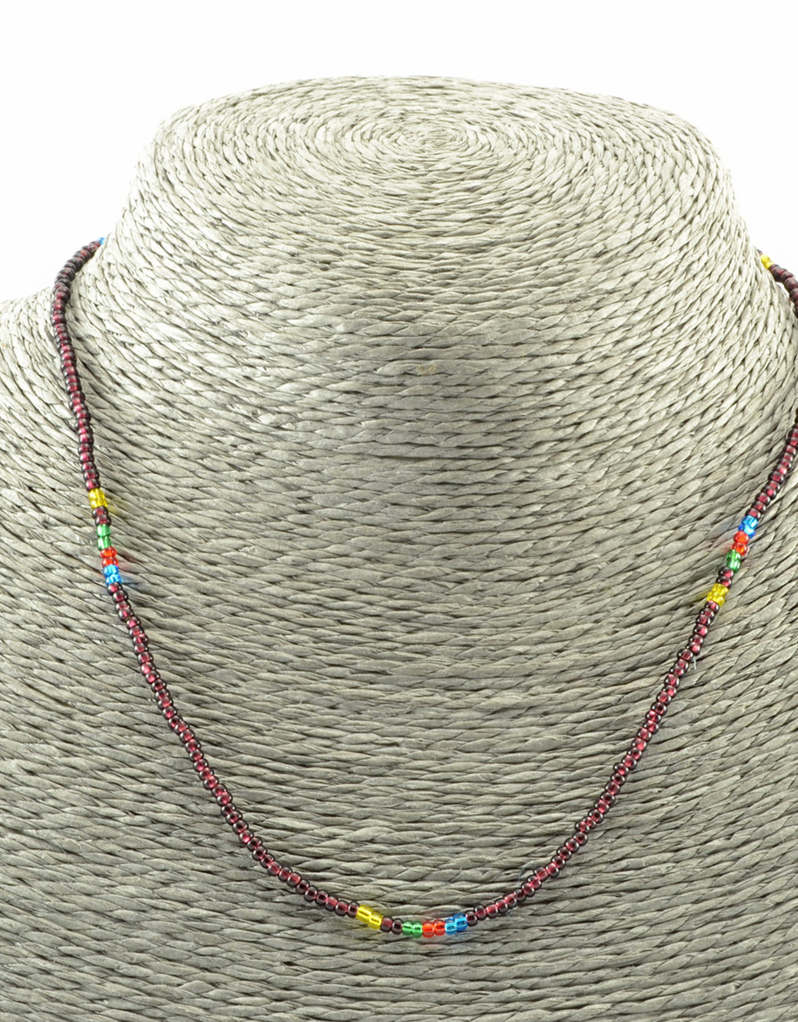 Lucia's Imports Rainbow Colors Necklace